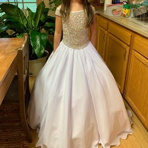 Size 8 Custom Unique Fashions Pageant Dress